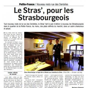 Le stras', pour les strasbourgeois